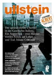 aLBerT - bei den Ullstein Buchverlagen