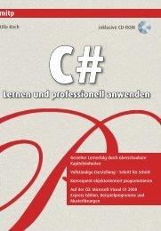 C# - Lernen und professionell anwenden - mitp