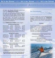 ARBERLAND-EXPRESS ARBERLAND-EXPRESS - Bahn