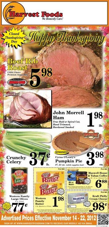 Harvest 2012-11-14 - URM Stores, Inc.