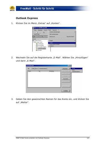 Outlook Express - Web