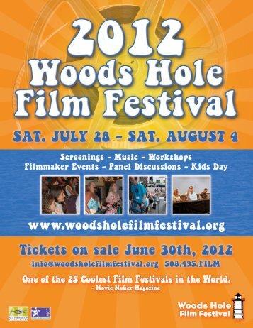 2012 One Sheet - Woods Hole Film Festival