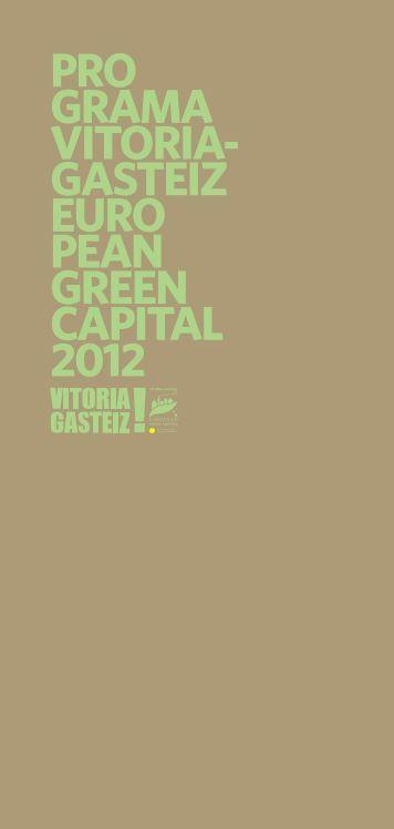 gasteiz european green capital 2012 - Ayuntamiento de Vitoria ...
