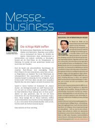 Messebusiness - bei Messe & Event