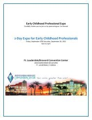 2-Day Expo for Early Childhood Professionals