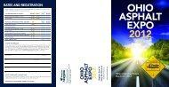 Asphalt Expo 2012 Program - Flexible Pavements of Ohio