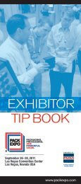 Exhibitor Tip Book - Pack Expo