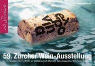 59. Zürcher Wein-Ausstellung - Expovina