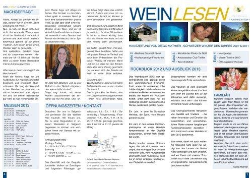e-paper WeinLesen 2013/2014 - Mathier