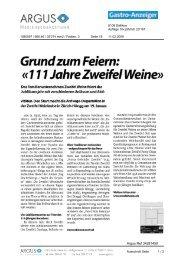 GrundzumFeiern: - Zweifel & Co. AG
