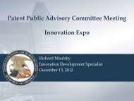 07 - Innovation Expo - U.S. Patent and Trademark Office