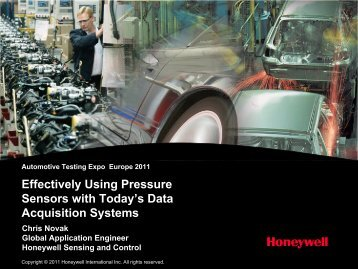 Effectively Using Pressure Sensors with Today's Data Acquisition ...