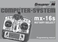Dual Rate / Expo - Graupner