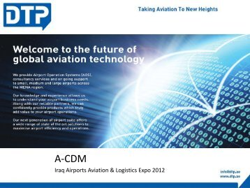 Iraq Airports Aviation & Logistics Expo 2012 - Iraq Airport, Aviation ...