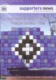 Ausgabe 51 07/2007 - HSV-Supporters