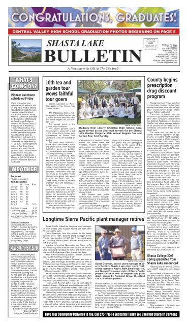 what's going on? - Shasta Lake Bulletin