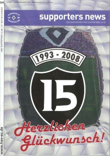 Ausgabe 54 03/2008 - HSV-Supporters