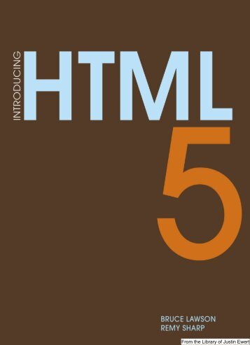 Introducing HTML 5 w.. - Justinewert.com
