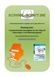 Kompetenzorientierte Sachaufgaben aus dem Alltag ... - School-Scout