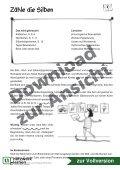 Lesen mit Bewegung: Zähle die Silben - Netzwerk Lernen - Seite 2