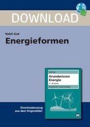 Nabil Gad Energieformen - Persen Verlag