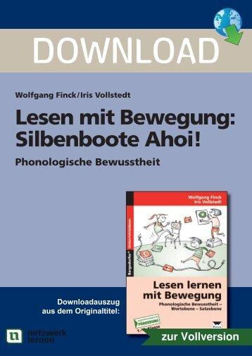 Lesen mit Bewegung: Silbenboote Ahoi! - Netzwerk Lernen