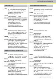 Fortbildung - Schleswig-Holsteinisches Ärzteblatt