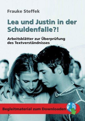 Lea und Justin in der Schuldenfalle?! Lea und ... - Persen Verlag