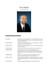 Curriculum Vitae etc. - Karl-Franzens-Universität Graz