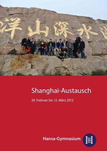 Shanghai-Austausch - Hansa-Gymnasium