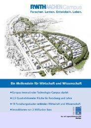Pressemappe - E.ON Energy Research Center - RWTH