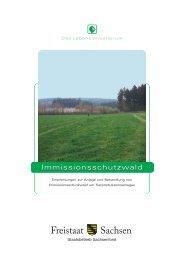 Immissionsschutzwald - Sächsisches Staatsministerium für Umwelt ...