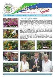 Autumn 2009 - Coldharbour Parish Council