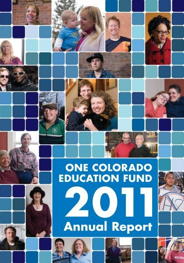 to download our 2011 Annual Report - One Colorado