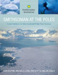 Smithsonian at the Poles: Contributions to International Polar
