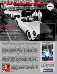 The Corvetter Newsletter - Sam Houston Corvette Club