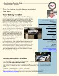 The Corvetter Newsletter - Sam Houston Corvette Club - Page 5