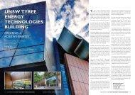 unsw tyree energy technologies building - Australian National ...