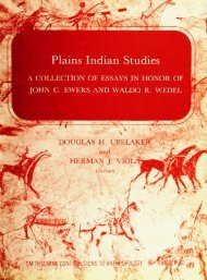 Plains Indian Studies - Smithsonian Institution Libraries