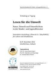 """Interaktive Ausstellung """"Klima & Co."""" (BayStMUG) - Deutsche ..."""