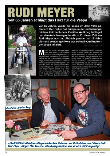 Bericht über Rudi vom rollerJOURNAL als PDF-File - Vespafreunde ...