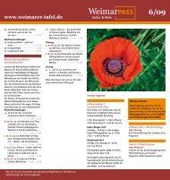 Weimarpass = Tafelpass - Diakoniestiftung Weimar Bad Lobenstein