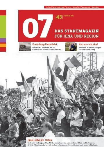 Ausgabe 43 - 07 Das Stadtmagazin . BLOG