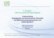 Untersuchung ökologischer und ökonomischer Potentiale von ...