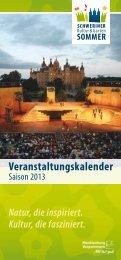 Programmheft Kultur- und Gartensommer 2013 [PDF] - Schwerin