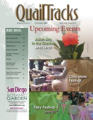 Upcoming Events - San Diego Botanic Garden