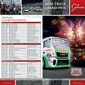 ADAC-Truck-Grand-Prix-Flyer.pdf, pages 1 - Nürburgring