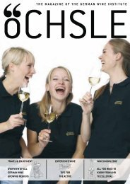 the magazine of the german wine institute - Wines of Germany