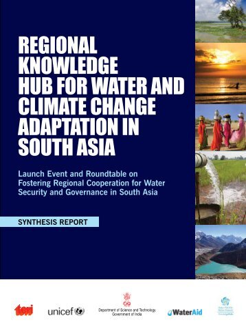 regional knowledge hub for water and climate change adaptation in ...