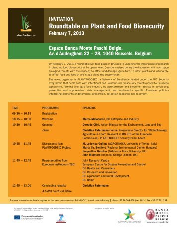 Plantfoodsec roundtable Feb 7_2013.pdf - ERRIN Network